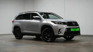 2019 Toyota Kluger GSU50R Black Edition 2WD Silver 8 Speed Sports Automatic Wagon.