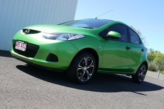 2008 Mazda 2 DE10Y1 Neo Green 4 Speed Automatic Hatchback.