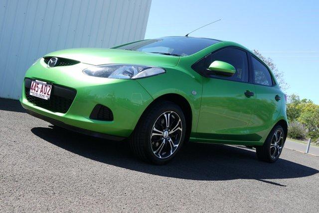 Used Mazda 2 DE10Y1 Neo Bundaberg, 2008 Mazda 2 DE10Y1 Neo Green 4 Speed Automatic Hatchback