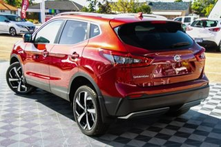 2019 Nissan Qashqai J11 Series 2 Ti X-tronic Magnetic Red 1 Speed Constant Variable Wagon.