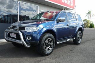 2010 Mitsubishi Challenger PB (KH) MY11 Blue 5 Speed Sports Automatic Wagon