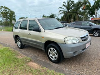 2002 Mazda Tribute Limited Gold 4 Speed Automatic Wagon.
