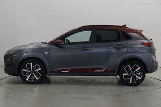 2019 Hyundai Kona OS.2 MY19 Iron Man Edition D-CT AWD Grey 7 Speed Sports Automatic Dual Clutch.