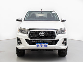 2019 Toyota Hilux GUN126R MY19 SR5 (4x4) White 6 Speed Manual Double Cab Pick Up.