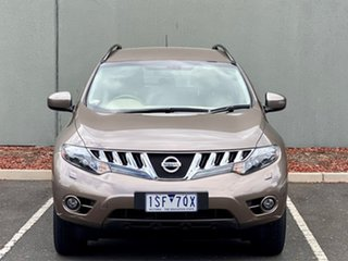 2009 Nissan Murano Z51 TI Bronze 6 Speed Constant Variable Wagon.