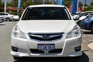 2012 Subaru Liberty B5 MY12 2.5i AWD Satin White Pearl 6 Speed Manual Sedan
