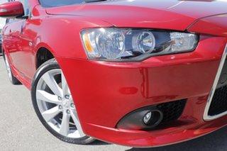 2014 Mitsubishi Lancer CJ MY15 GSR Sportback Plum 6 Speed Constant Variable Hatchback.