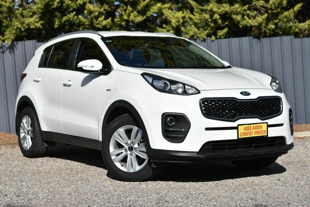 Used Kia Sportage QL MY17 Si AWD Morphett Vale, 2017 Kia Sportage QL MY17 Si AWD White 6 Speed Sports Automatic Wagon
