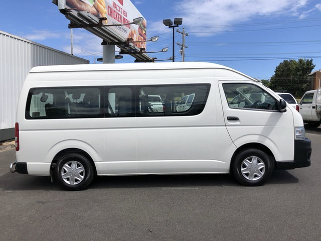Pre-Owned Toyota HiAce TRH223R MY10 Commuter High Roof Super LWB Oakleigh, 2010 Toyota HiAce TRH223R MY10 Commuter High Roof Super LWB Grey 4 Speed Automatic Bus