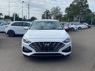 2020 Hyundai i30 PD.V4 MY21 Active Polar White 6 Speed Automatic Hatchback