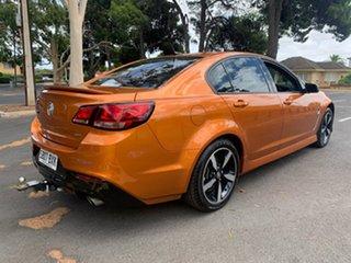 2017 Holden Commodore VF II MY17 SV6 Orange 6 Speed Automatic Sedan