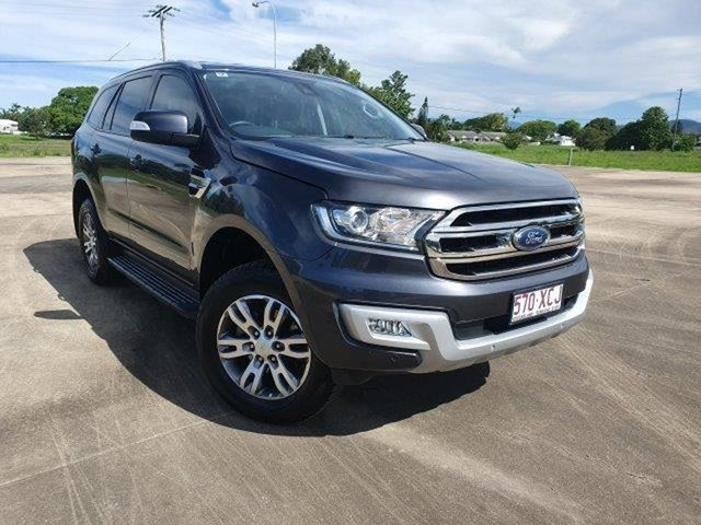 Used Ford Everest UA Trend Townsville, 2016 Ford Everest UA Trend Meteor Grey 6 Speed Sports Automatic SUV