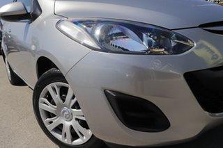 2011 Mazda 2 DE10Y1 MY11 Neo Aluminium 4 Speed Automatic Hatchback.