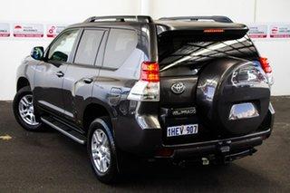 2013 Toyota Landcruiser Prado KDJ150R 11 Upgrade VX (4x4) Graphite 5 Speed Sequential Auto Wagon.