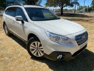 2015 Subaru Outback MY15 2.0D AWD White Continuous Variable Wagon.