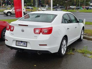 2016 Holden Malibu V300 MY15 CDX Snowflake White 6 Speed Sports Automatic Sedan
