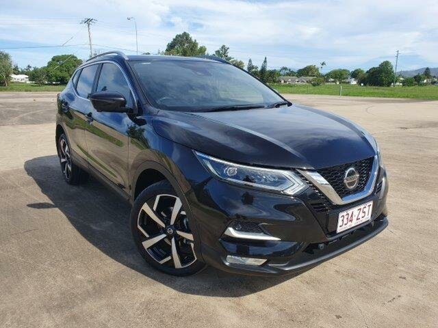 Used Nissan Qashqai J11 Series 2 Ti X-tronic Townsville, 2018 Nissan Qashqai J11 Series 2 Ti X-tronic Black 1 Speed Constant Variable Wagon