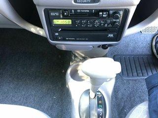 1999 Toyota Echo NCP12R Silver 4 Speed Automatic Sedan