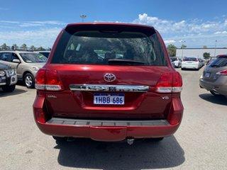 2008 Toyota Landcruiser VDJ200R GXL (4x4) Burgundy 6 Speed Automatic Wagon