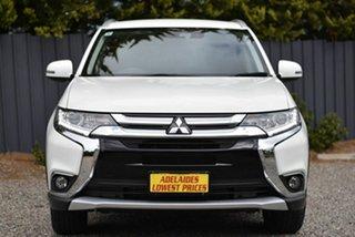 2017 Mitsubishi Outlander ZL MY18.5 LS AWD White 6 Speed Sports Automatic Wagon.