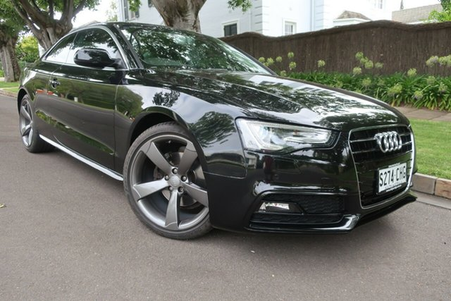 Used Audi A5 8T MY15 Multitronic Prospect, 2015 Audi A5 8T MY15 Multitronic Black 8 Speed Constant Variable Coupe
