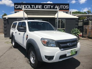 2010 Ford Ranger PK XL (4x2) White 5 Speed Automatic Dual Cab Pick-up.