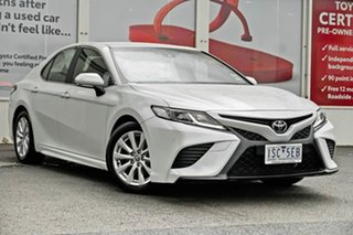 2020 Toyota Camry ASV70R Ascent Sport Frosted White 6 Speed Sports Automatic Sedan.