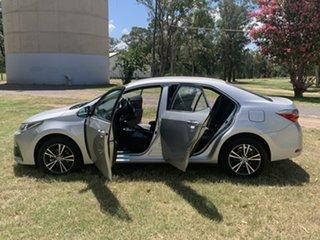 2019 Toyota Corolla Mzea12R ZR Silver Pearl 10 Speed Constant Variable Sedan