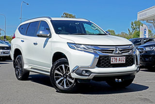 2016 Mitsubishi Pajero Sport QE MY16 GLX White 8 Speed Sports Automatic Wagon.