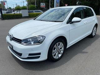 2016 Volkswagen Golf VII MY17 92TSI DSG Comfortline White 7 Speed Sports Automatic Dual Clutch.