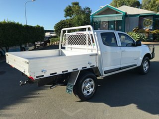 2016 Holden Colorado RG MY17 LS Crew Cab 4x2 White 6 speed Automatic Cab Chassis.