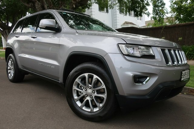 Used Jeep Grand Cherokee WK MY15 Laredo Prospect, 2015 Jeep Grand Cherokee WK MY15 Laredo Grey 8 Speed Sports Automatic Wagon