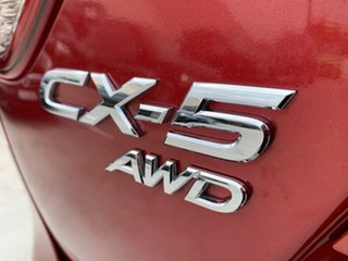 2013 Mazda CX-5 KE1021 Grand Touring SKYACTIV-Drive AWD Red 6 Speed Sports Automatic Wagon