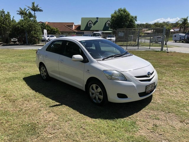Used Toyota Yaris NCP93R YRS Kippa-Ring, 2006 Toyota Yaris NCP93R YRS White 5 Speed Manual Sedan