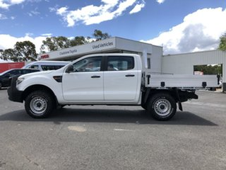 2013 Ford Ranger PX XL White 6 Speed Sports Automatic Cab Chassis