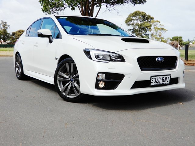 Used Subaru WRX V1 MY17 AWD Glenelg, 2016 Subaru WRX V1 MY17 AWD White 6 Speed Manual Sedan
