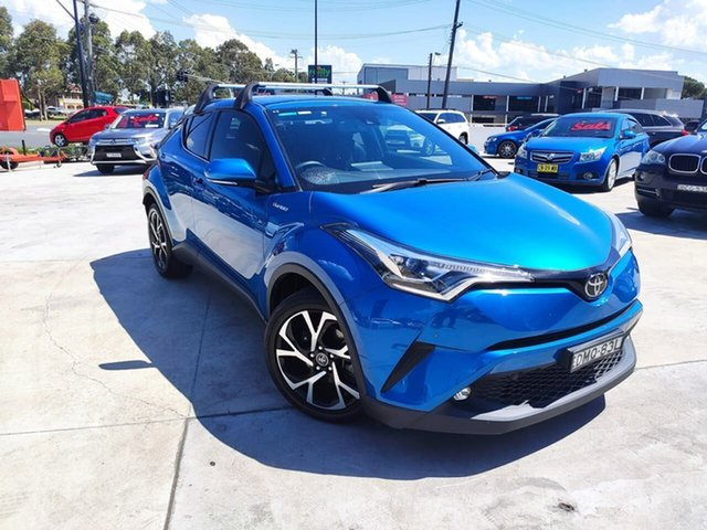 Used Toyota C-HR NGX10R Koba S-CVT 2WD Liverpool, 2017 Toyota C-HR NGX10R Koba S-CVT 2WD Blue 7 Speed Constant Variable Wagon