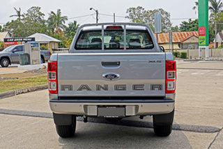 2020 Ford Ranger PX MkIII 2020.75MY XLS Silver 6 Speed Sports Automatic Double Cab Pick Up