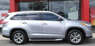 2014 Toyota Kluger GSU50R GXL 2WD Silver 6 Speed Sports Automatic Wagon.