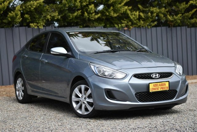 Used Hyundai Accent RB6 MY18 Sport Enfield, 2017 Hyundai Accent RB6 MY18 Sport Grey 6 Speed Sports Automatic Sedan