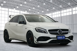 2016 Mercedes-Benz A-Class W176 807MY A45 AMG SPEEDSHIFT DCT 4MATIC White 7 Speed.