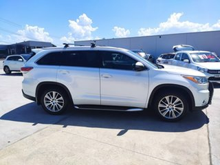 2015 Toyota Kluger GSU50R Grande 2WD White 6 Speed Sports Automatic Wagon.