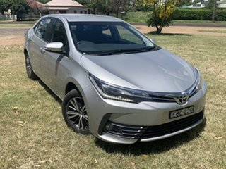 2019 Toyota Corolla Mzea12R ZR Silver Pearl 10 Speed Constant Variable Sedan