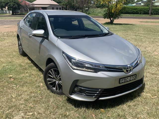 Used Toyota Corolla Mzea12R ZR Moree, 2019 Toyota Corolla Mzea12R ZR Silver Pearl 10 Speed Constant Variable Sedan