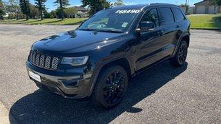 2020 Jeep Grand Cherokee WK MY20 Night Eagle Diamond Black Crystal 8 Speed Sports Automatic Wagon.
