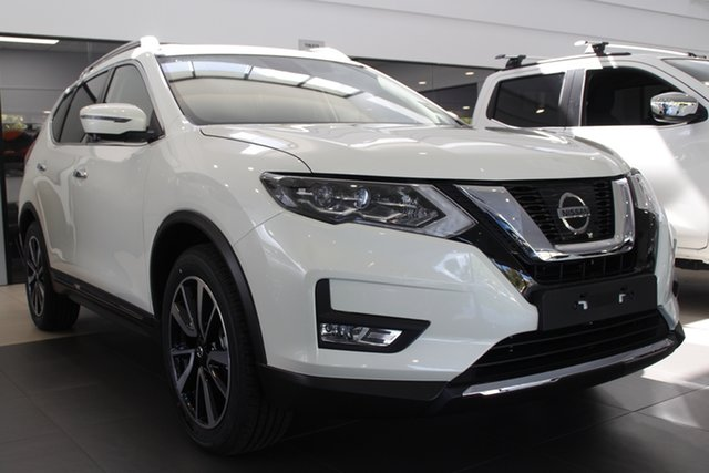 Demo Nissan X-Trail T32 Series III MY20 Ti X-tronic 4WD Newstead, 2020 Nissan X-Trail T32 Series III MY20 Ti X-tronic 4WD Ivory Pearl 7 Speed Constant Variable Wagon