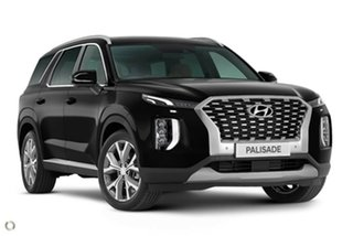 2020 Hyundai Palisade LX2.V1 MY21 Highlander AWD Timeless Black 8 Speed Sports Automatic Wagon