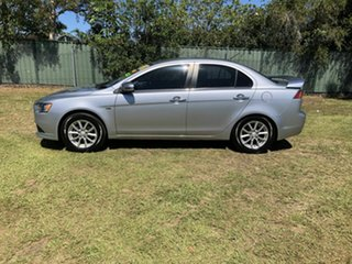 2014 Mitsubishi Lancer CJ MY15 LS Silver 5 Speed Manual Sedan