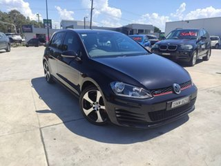 2013 Volkswagen Golf VII MY14 GTI DSG Black 6 Speed Sports Automatic Dual Clutch Hatchback.