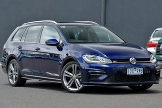 2018 Volkswagen Golf 7.5 MY19 110TSI DSG Highline Blue 7 Speed Sports Automatic Dual Clutch Wagon.